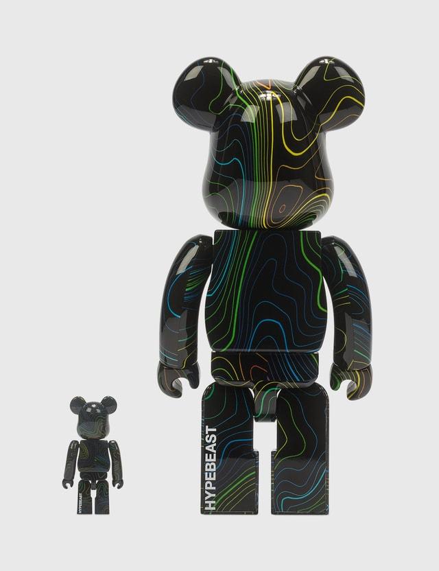Medicom Toy Hypebeast x Medicom Toy Be@rbrick 100% & 400% Set