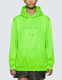 Fuck Art, Make Tees Usually Dressed In Black. Neon Hoodie