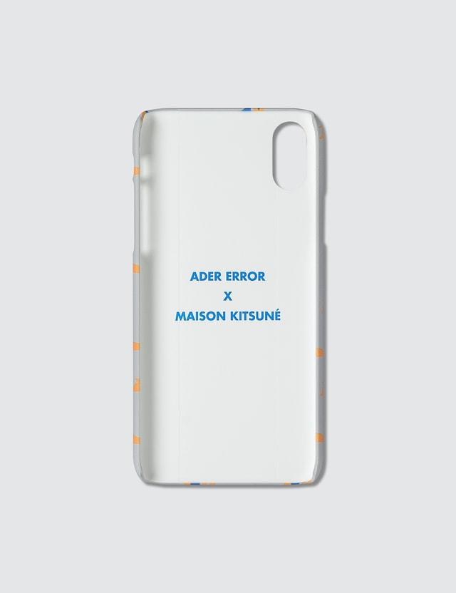 Maison Kitsune Ader Error X Maison Kitsune Kitsune Patern Iphone Xs Case