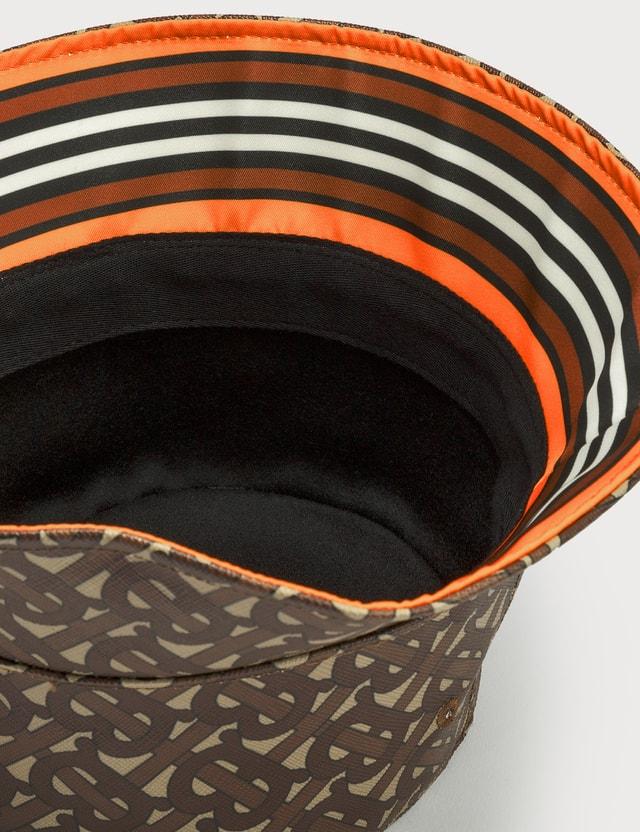 Burberry Monogram Print Bucket Hat