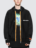 Heron Preston Handle Zip Hooded Sweatshirt Picture