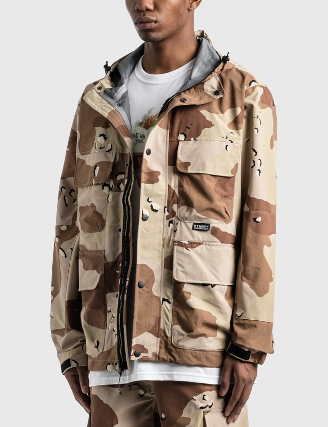 Stussy Camo Taped Seam Field Jacket