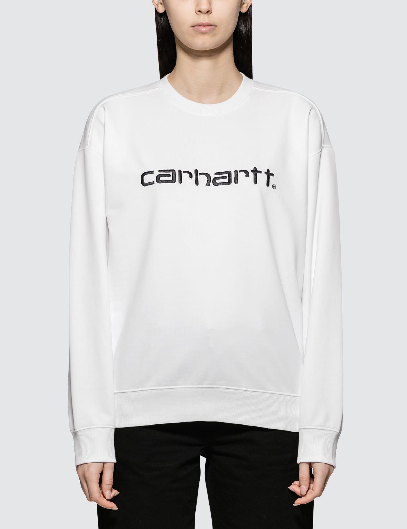 CARHARTT   Carhartt Work In Progress Carhartt Sweatshirt   Goxip