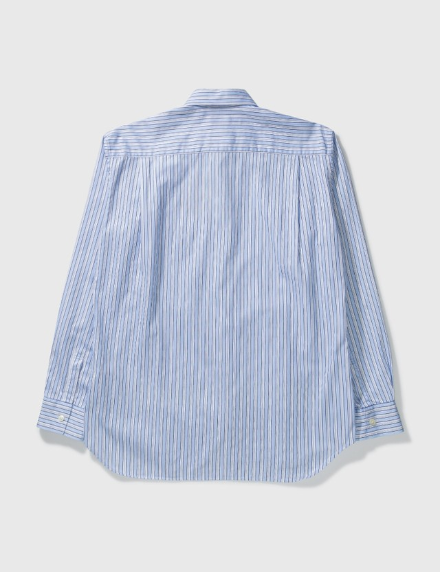 Comme des Garçons Shirt Cdg Shirt Mutli Stripe Shirt Blue Archives