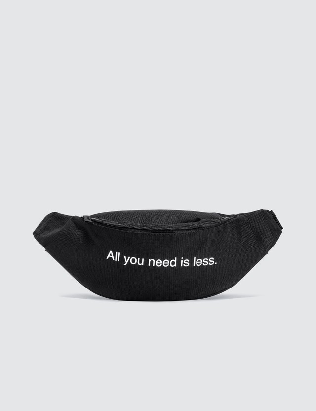 "Fuck Art, Make Tees ""All You Need Is Less"" Bum Bag"