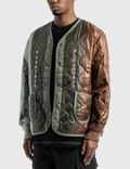 Pleasures Misery Panelled Quilted Jacket