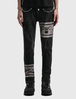 C2H4 Los Angeles C2H4® x Mastermind Japan Double Waist Jeans