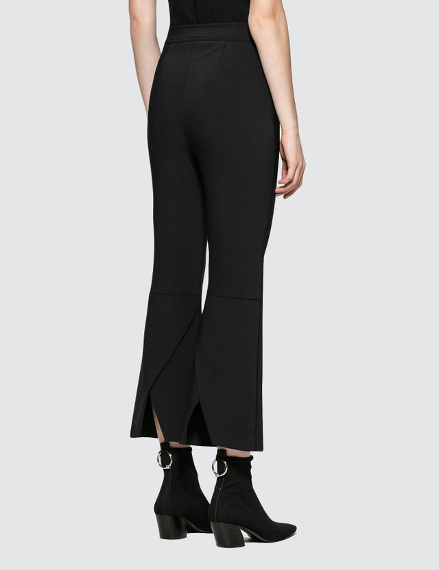 Opening Ceremony William Back Flare Pants Black Women