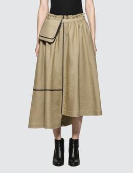 Loewe Belt Pocket Saharienne Skirt