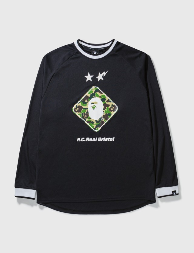 BAPE Bape X F.c.r.b. Long Top Black Archives