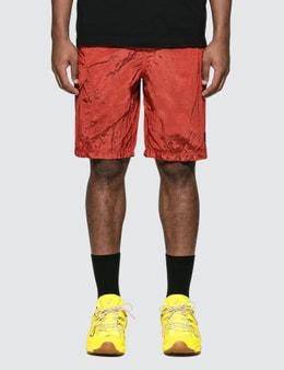 Stone Island Nylon Shorts With Side Pocket