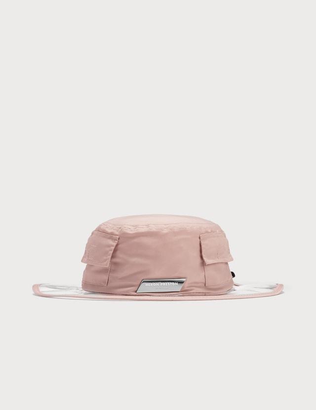 Heron Preston Clear Brim Sun Hat Pink No Color Women