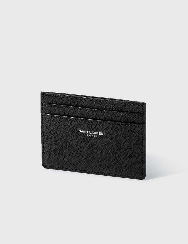 Saint Laurent Grain Leather Card Case