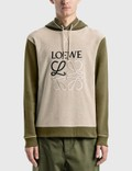 Loewe LOEWE Anagram Embroidered Hoodie Picture
