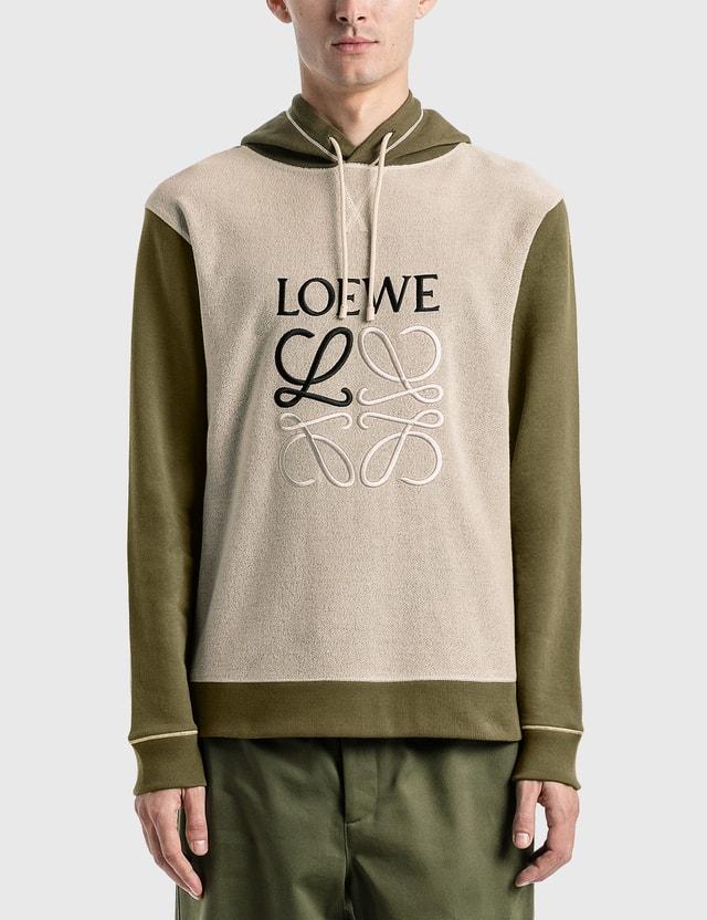 Loewe LOEWE Anagram Embroidered Hoodie