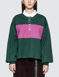 X-Girl Cropped Rugby Shirt Picutre