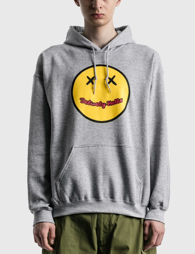 Flagstuff Split Hoodie Gray Men
