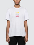 MSGM Mix Logo Short Sleeve T-shirt Picture
