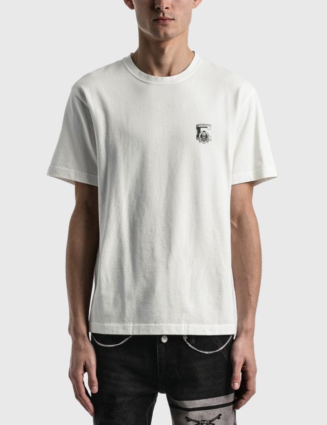 C2H4 Los Angeles C2H4® x Mastermind Japan Printed Logo T-shirt White Men