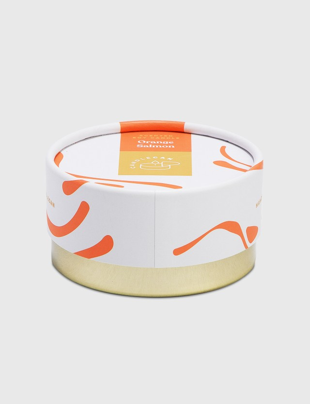 Candle Hand Orange Salmon Candle Can Red Unisex