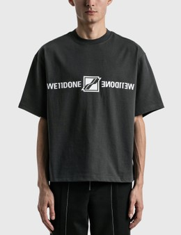 We11done Mirror Logo T-shirt