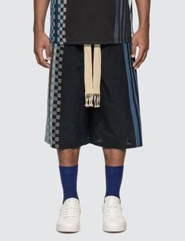 Loewe Stripe Anagram Shorts
