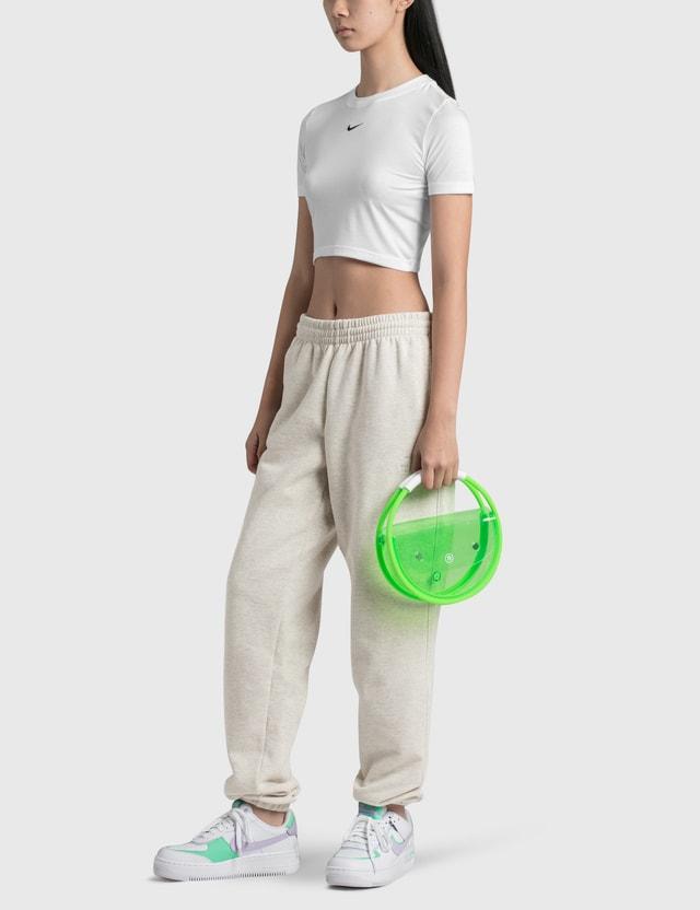 Nana-nana nana-nana x NBA Hoop PVC Medium Bag Boston Celtics Women