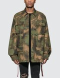 Off-White Paintbrush Field Jacket Picture