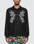 Stussy Emb. Dragon Long Sleeve Shirt Picutre