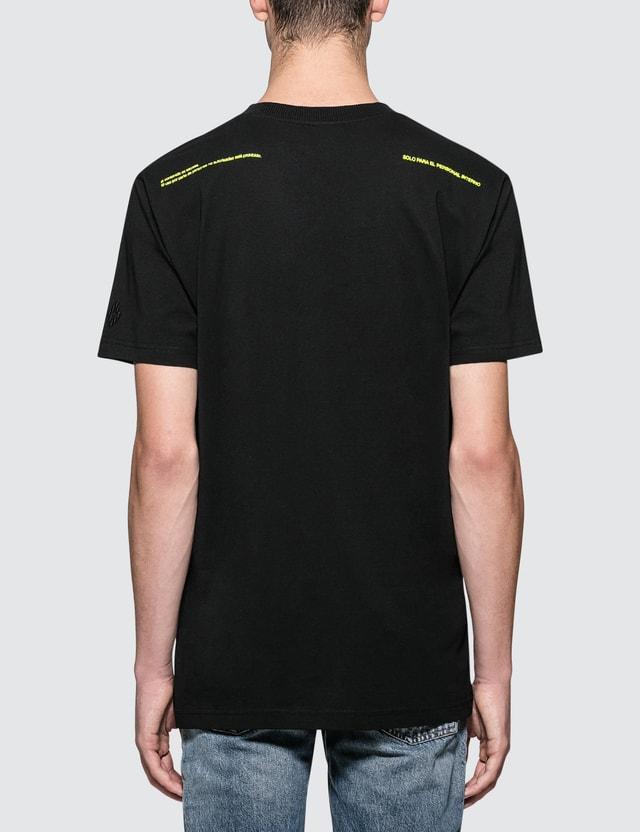 Marcelo Burlon Deformed Child S/S T-Shirt Black Men