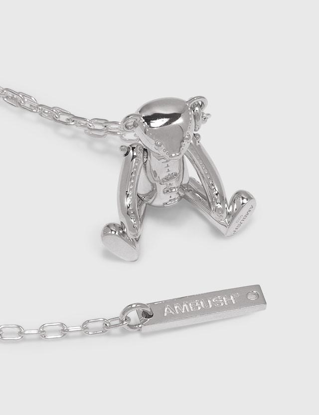 Ambush Teddy Bear Charm Necklace