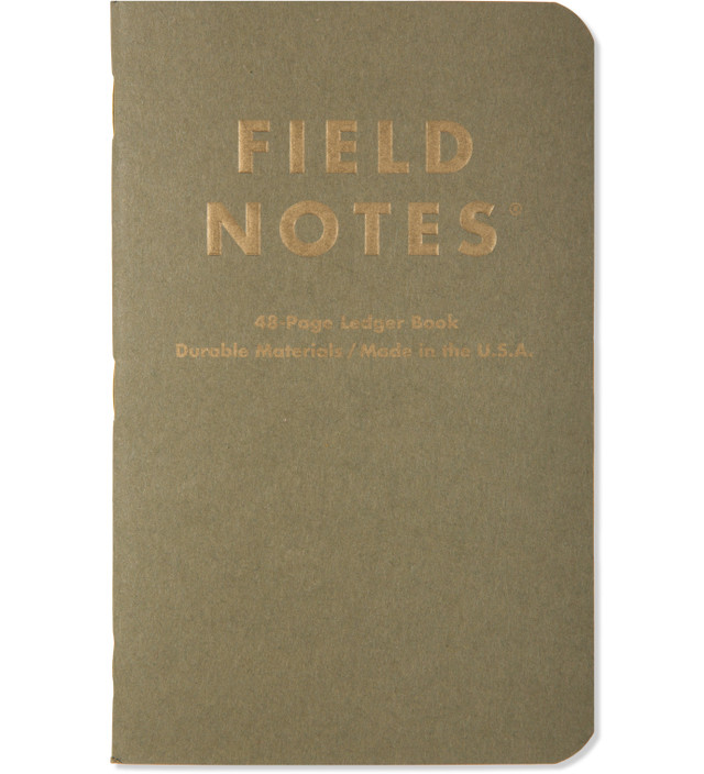 "Field Notes The ""Ambition"" 3 Pack Notebook"