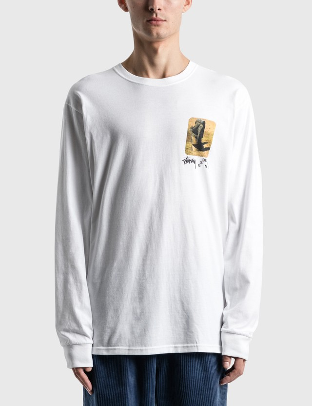 Stussy Moai Long Sleeve T-Shirt
