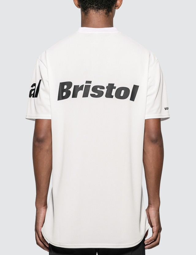 F.C. Real Bristol Straddle Logo Tour T-shirt