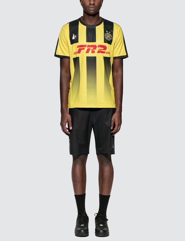 #FR2 Uniform Top & Shorts Set Yellow Men