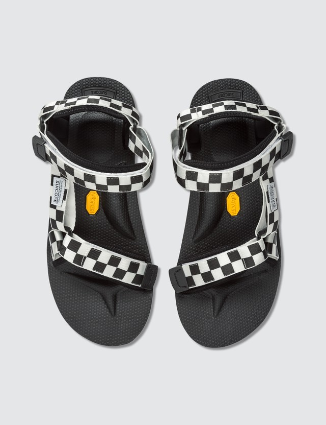 Suicoke Depa-V2 Checkered Sandals