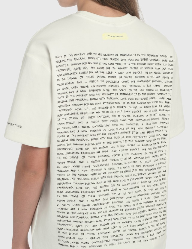 Ader Error Handwriting Logo T-Shirt