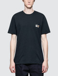 Maison Kitsune Double Fox Head Patch S/S T-Shirt Picture