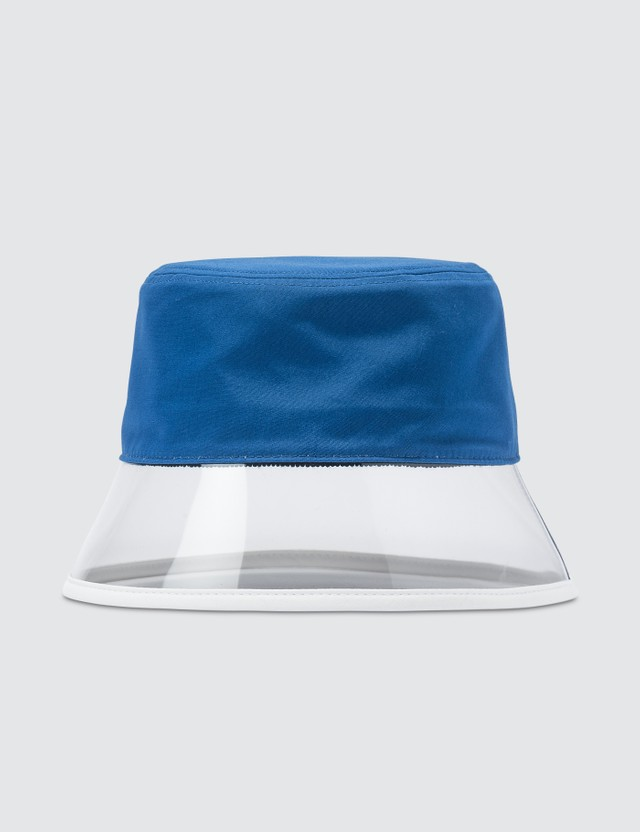 Prada Popeline And Plex Bucket Hat