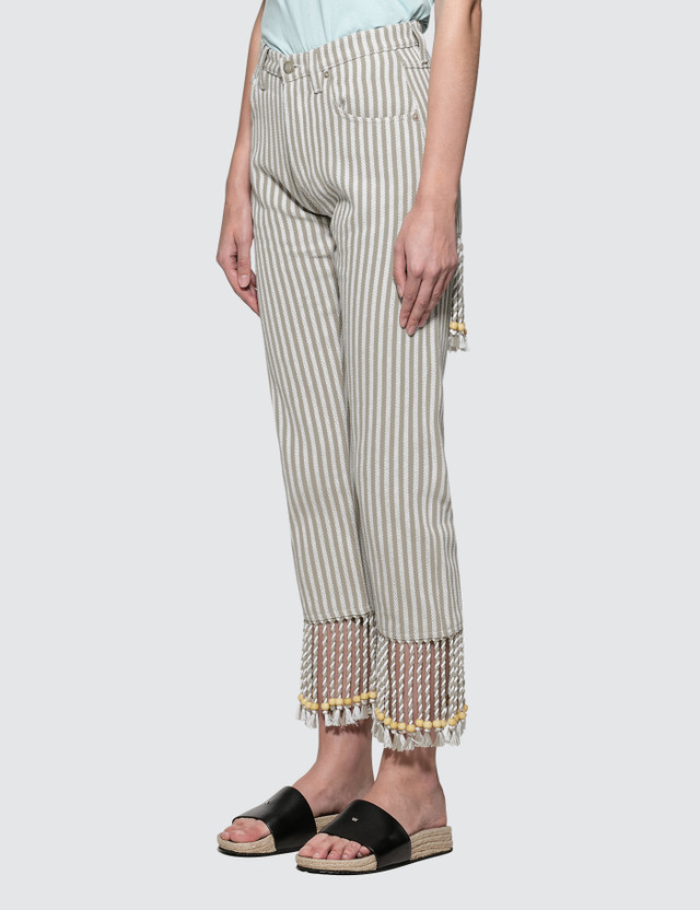 Loewe Paula Stripes 5 Pockets Pants