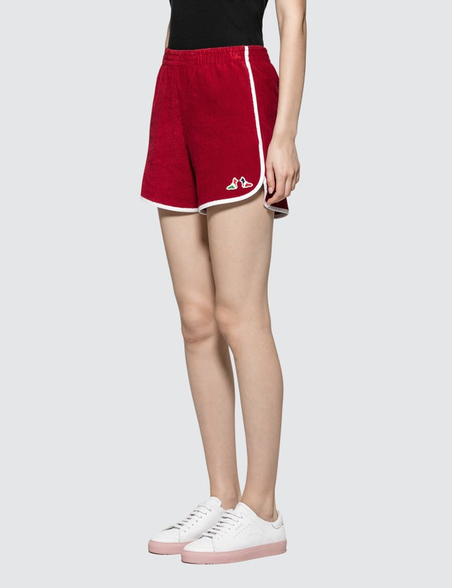 Maison Kitsune Terry Cloth Sport Short
