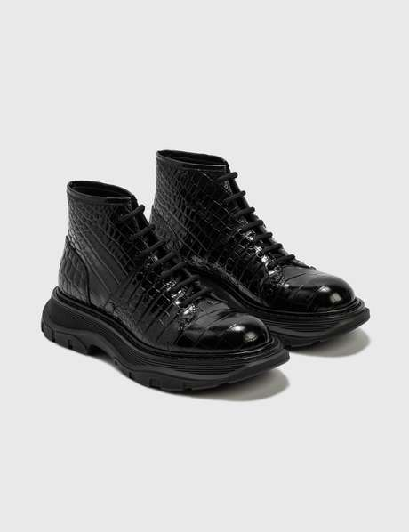알렉산더 맥퀸 Alexander McQueen Tread Lace-Up Boot