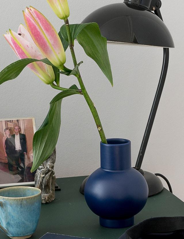 Raawii Strøm Large Vase Blue Horizon Unisex