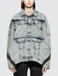 Diesel Red Tag Turbo Jean Jacket Picture