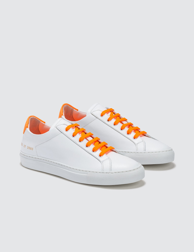 Common Projects Retro Low Fluo Trainers