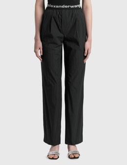 Alexander Wang.T Logo Elastic Pull-on Pants