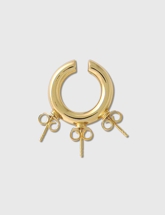 D'heygere Studs Ear Cuff Gold Men