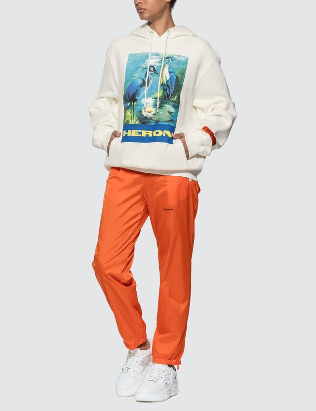 Heron Preston Nylon Pants Orange Women