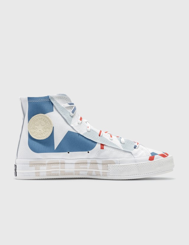 Converse Converse x TELFAR Chuck 70 Hi White/chili Pepper/black Women