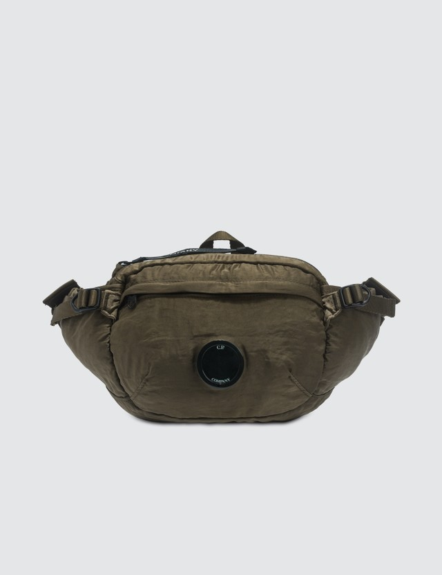 CP Company Garment Dyed Nylon Sateen Lens Waist Bag